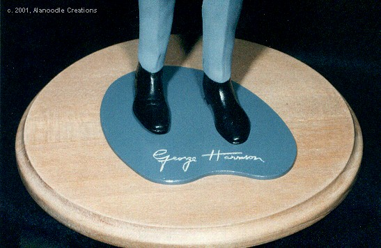 Display Base with Autograph